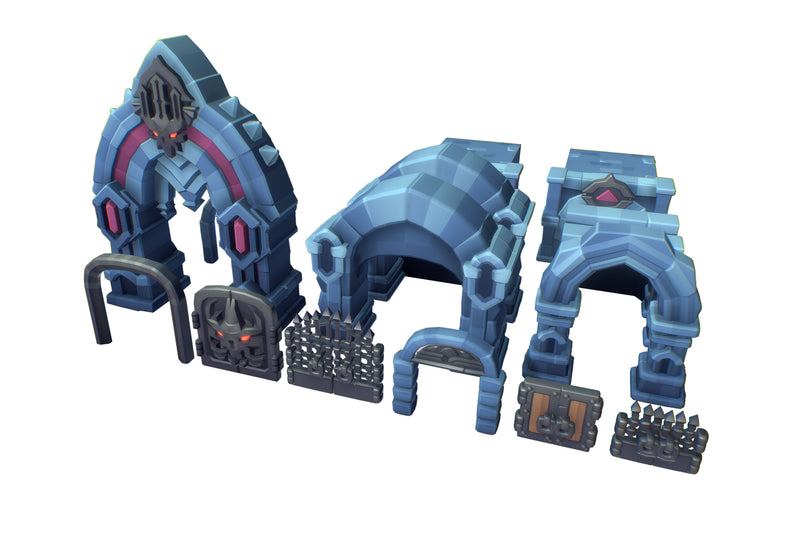 Buildings - Crypt Dungeon Set - Proto Series