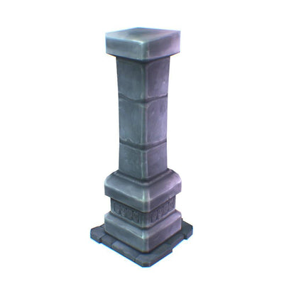 Buildings - Dungeon Stone Pillar - Free Download