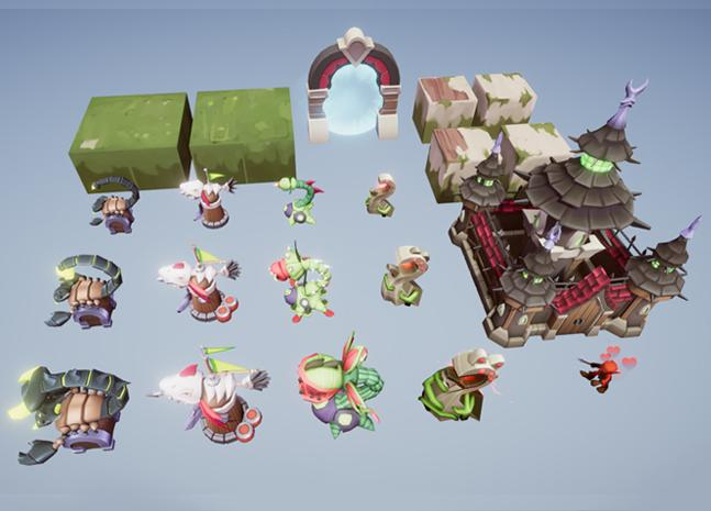 Buildings - Fairy Towers Pack - Tower Defence