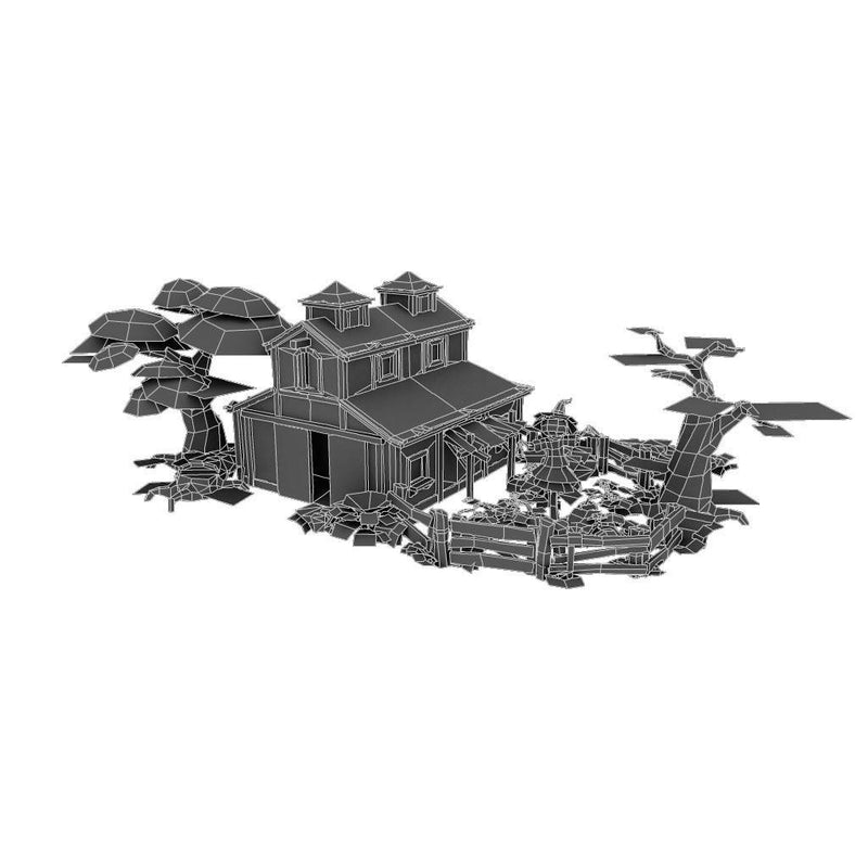 Buildings - Farm Set