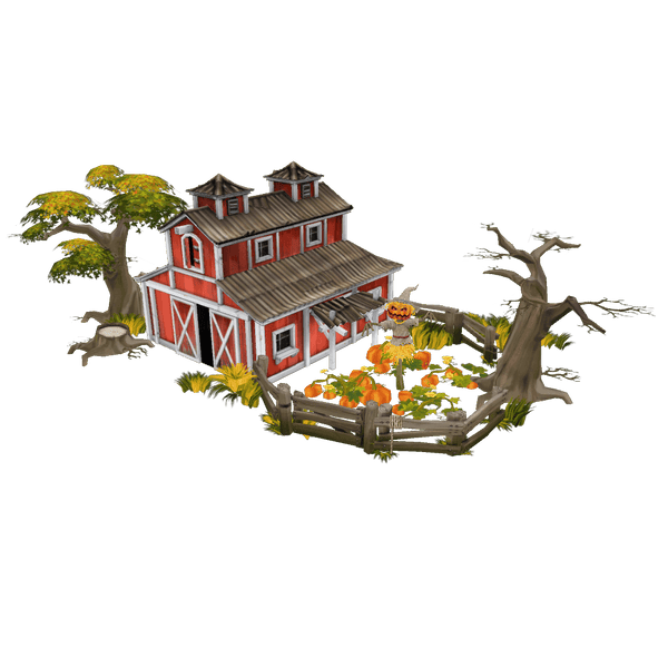 Buildings - Farm Set - Low Poly 3D Model