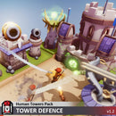 Buildings - Human Towers Pack - Tower Defence