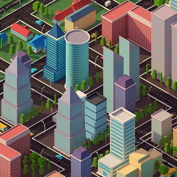 Buildings - Low Poly City Pack 2 - Anton Moek