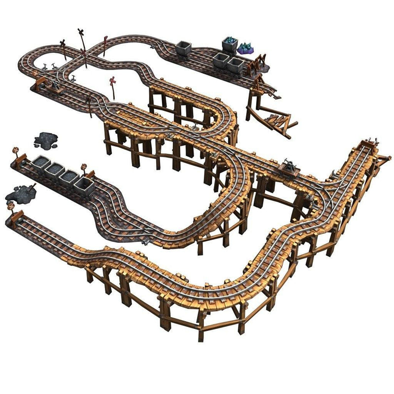 Buildings - Modular Rail Set