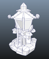 Buildings - RTS Orc Tower - Low Poly 3D Model