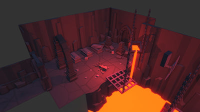 Buildings - Simple Dungeons - Cartoon Assets - Synty
