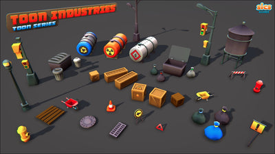 Buildings - Toon Industries - SICS Games