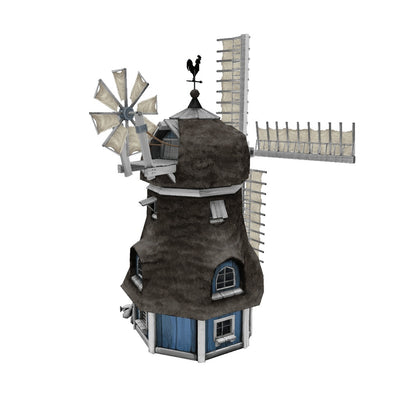 Buildings - Windmill - Low Poly 3D Model