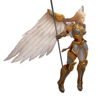 Character - Angelic Warrior Female - Low Poly 3D Model