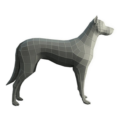 Character - Base Mesh Dog