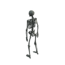 Character - Base Mesh Skeleton - Low Poly 3D Model
