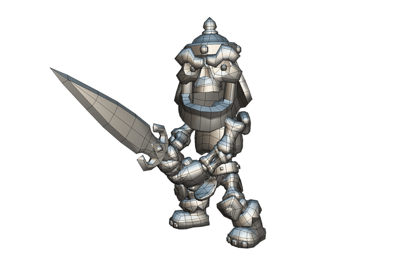 Bonan the Skeleton Warrior - Proto Series