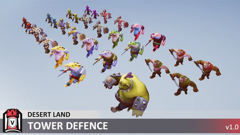 Character - Creature Pack A - Tower Defence