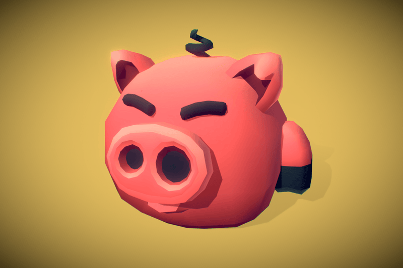 Character - Cube World Pig Melvin - Proto Series