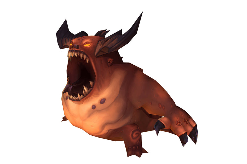 Demon Fatty - Low Poly Hand Painted