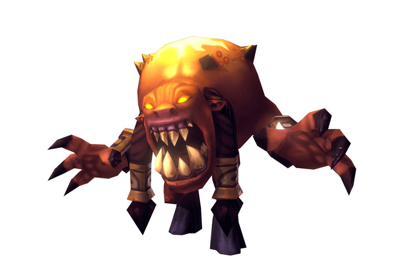 Demon Living Bomb - Low Poly Hand Painted