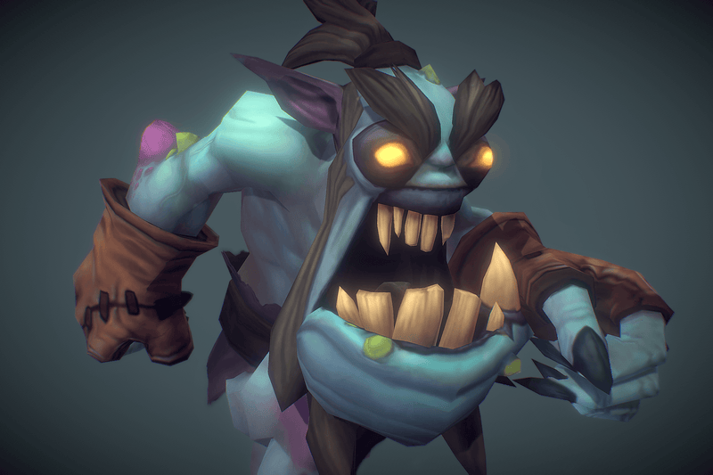 Ghoul - Low Poly Hand Painted