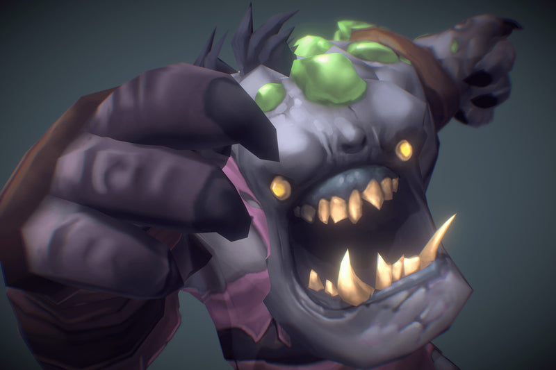 Ghoul Festering - Low Poly Hand Painted