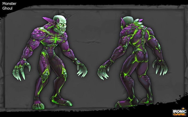 Character - Ghoul - IronicGame