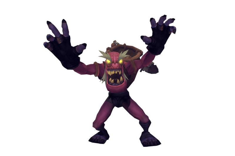 Ghoul Scavenger - Low Poly Hand Painted