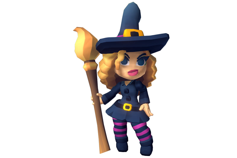 Character - Halloween Witches - Proto Series