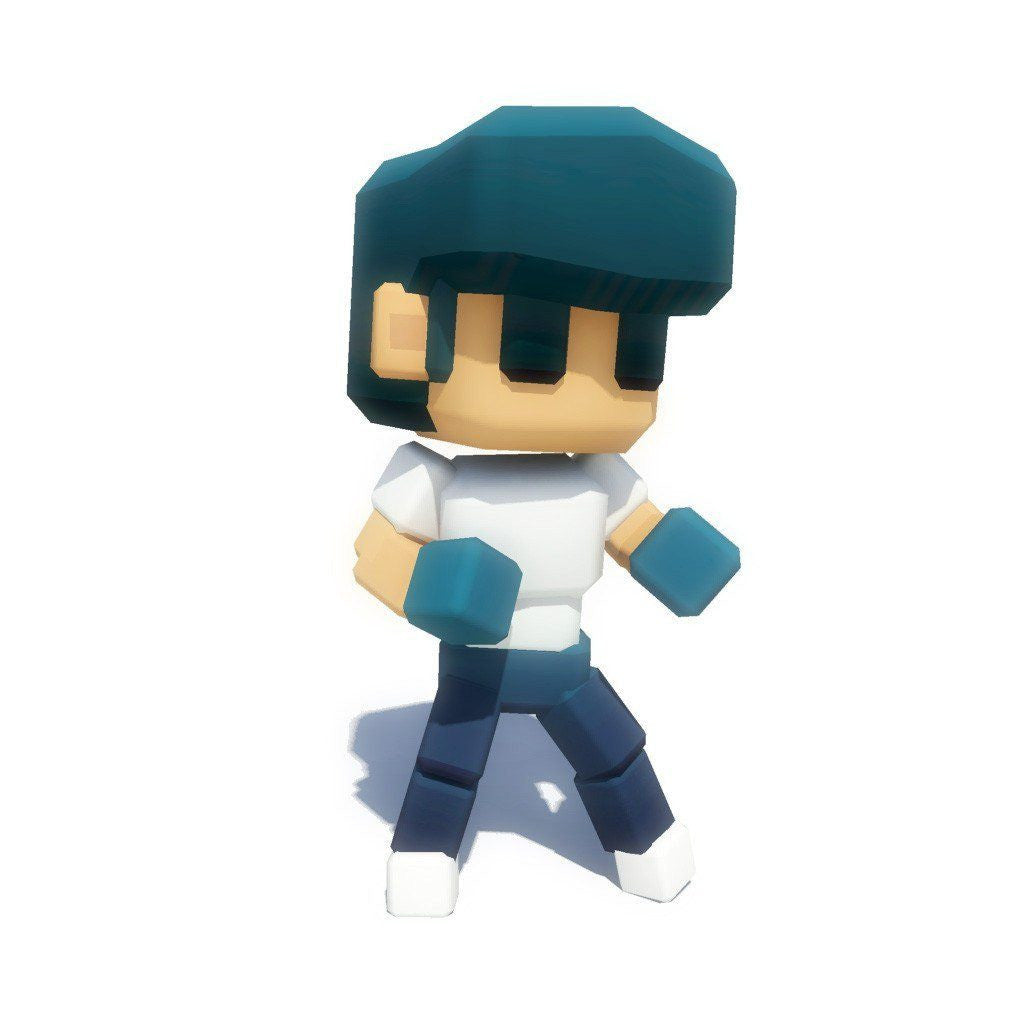 Character - Low Poly Generic Guy - Smashy Craft Series