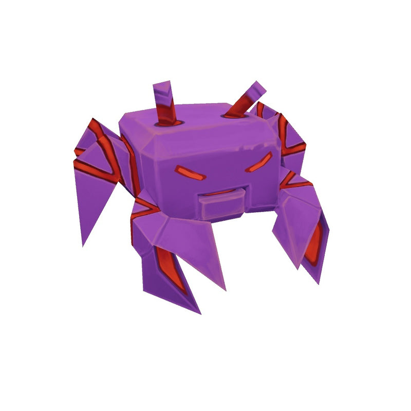 Character - Low Poly Space Invaders