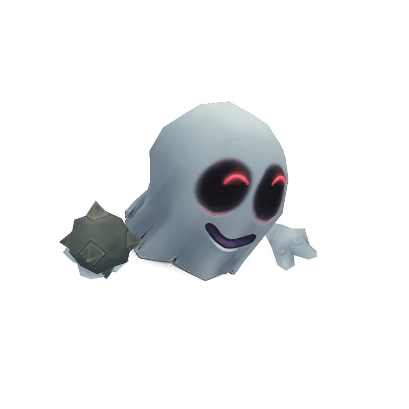 Character - Micro Ghost Hubert - Low Poly 3D Model