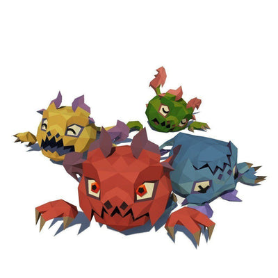 Character - Micro Monsters - FACETED STYLE