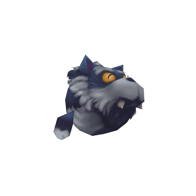 Character - Micro Werewolf Otis - Low Poly 3D Model
