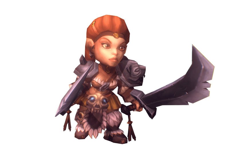 Mini Barbarian Girl Sonja