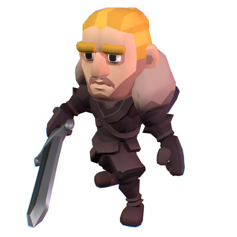 Character - Nordic Warrior Raydal - Smashy Craft Series