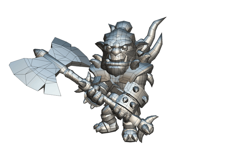 Character - Orc Chieftain - Proto Series