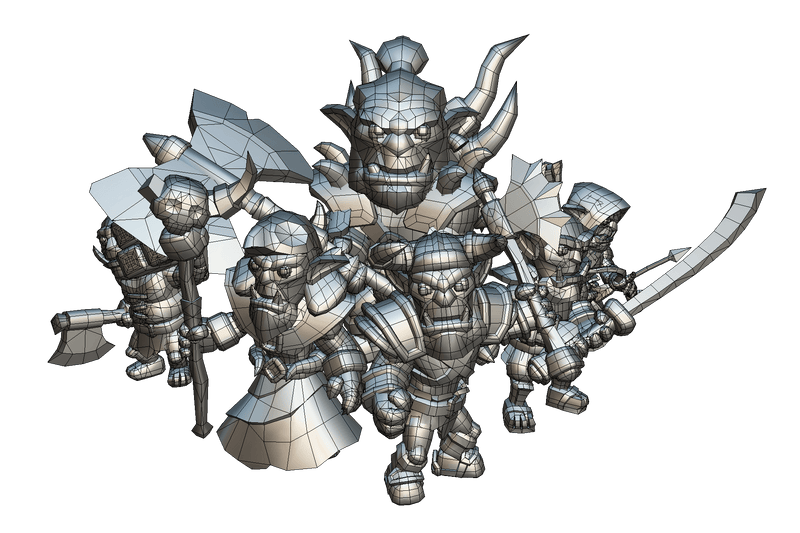 Character - Orc Horde - Proto Series