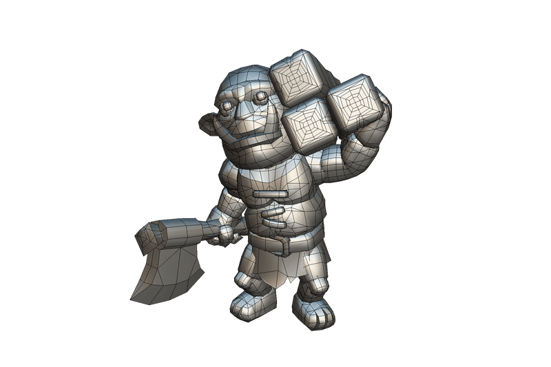 Character - Orc Peon - Proto Series
