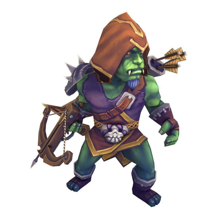 Character - Orc Ranger - 3dfancy