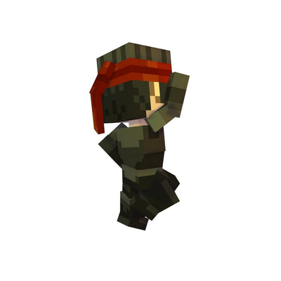 Character - Pixel Man - Low Poly 3D Model