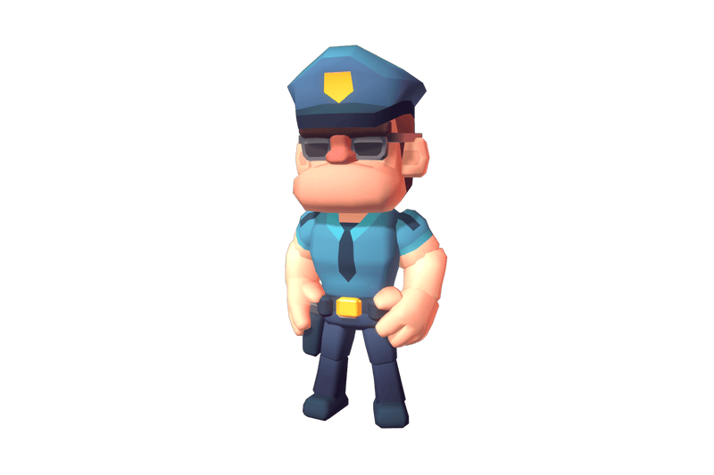Character - Police Officer Hunter - Proto Series