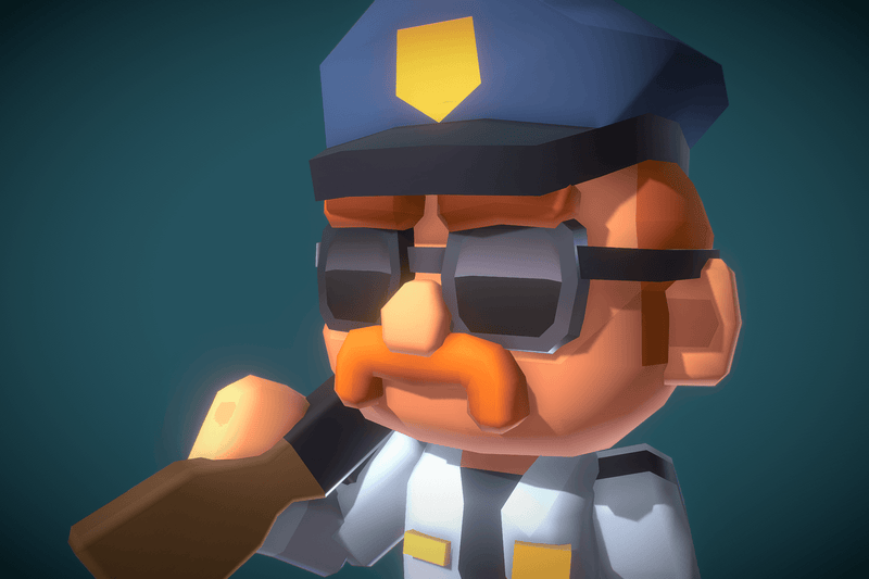 Police Officer Redford - Proto Series - Free Download