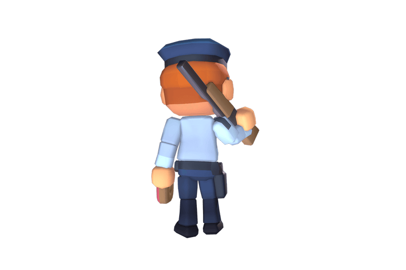 Character - Police Officer Redford - Proto Series - Free Download