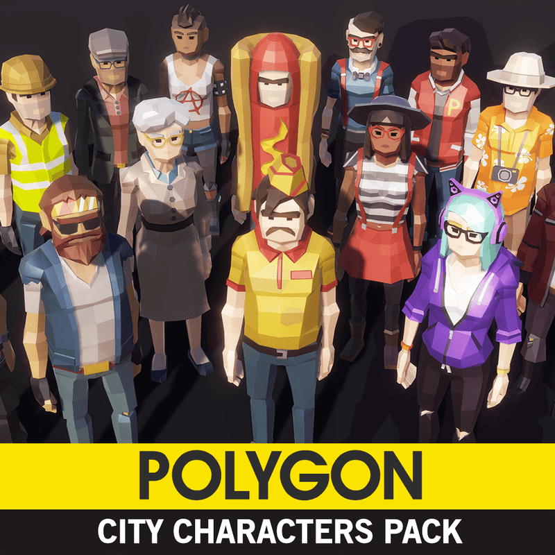 Character - POLYGON - City Characters Pack - Synty