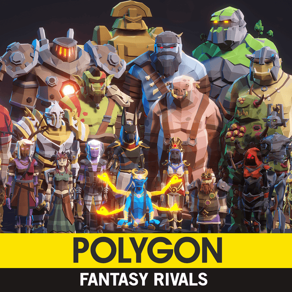 Character - POLYGON - Fantasy Rivals Pack - Synty