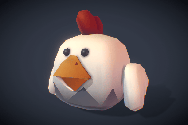Cube World Rooster Rudy - Proto Series