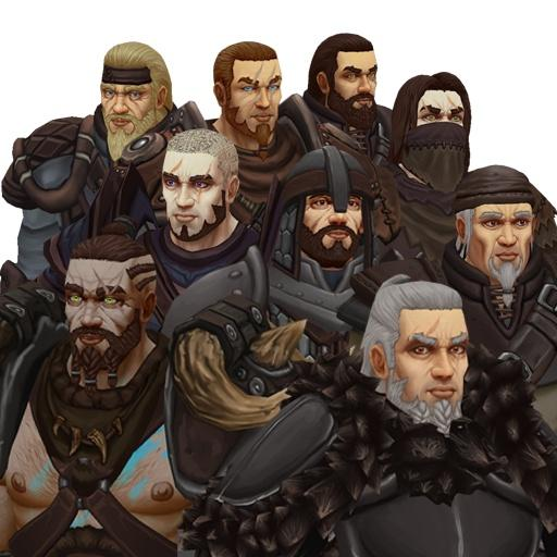 Character - RPG Customizable Human Male Character - IronicGame