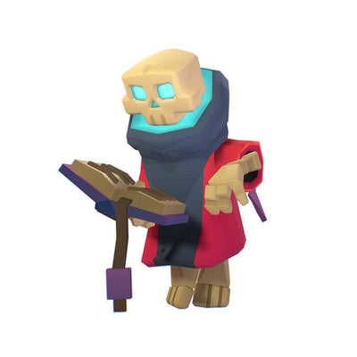 Character - Skeleton Mage - Smashy Craft Series