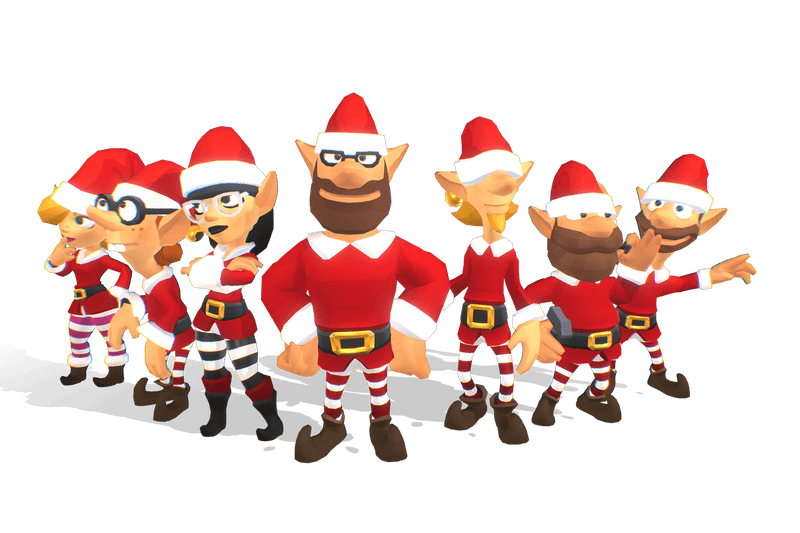 Santa's Elves - Toon Series