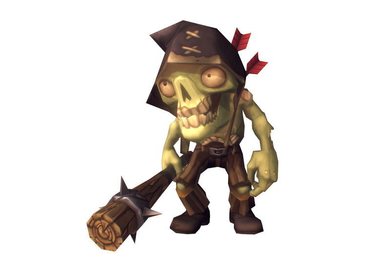 Zombie Crew Bundle - Low Poly Hand Painted