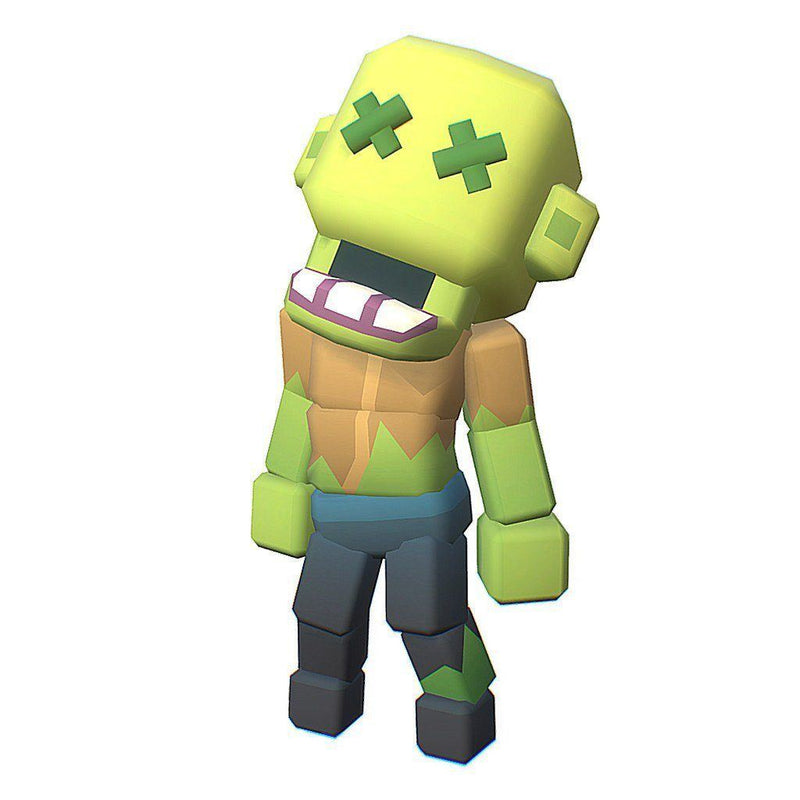 Character - Zombie - Smashy Craft