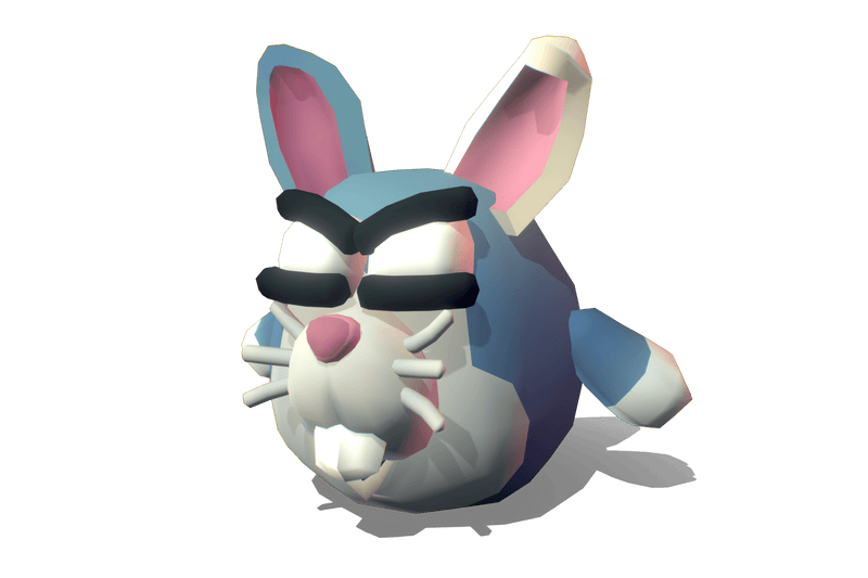 Cube World Rabbit Roger - Proto Series