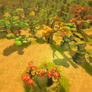 Environments - Autumnal Nature Level Set - 3dfancy